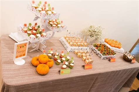 Lil Pumpkin Baby Shower Theme by Festive Pumpkin Baby Shower Baby Shower Ideas