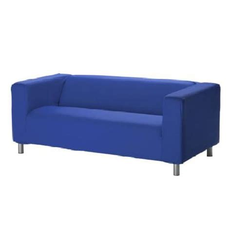 klippan 4 seater sofa blue cover slipcover to fit ikea klippan 2 or 4 seater