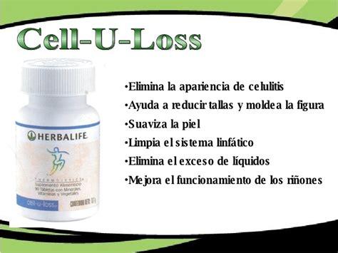 Cell U Loss Herballife Diet nutricion interna
