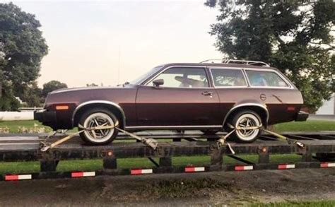 museum stored  ford pinto station wagon