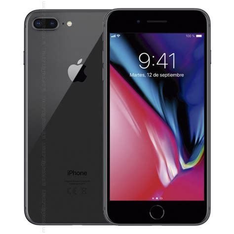 apple iphone 8 plus space grey 64gb 0190198454140 movertix mobile phones shop