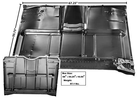 cab floor panel complete  brace   chevrolet pickup