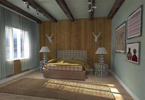 modern bedroom designs  exposed wood beams rilane