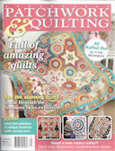 Australian Patchwork Quilting Magazine - products