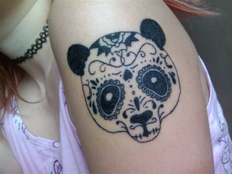tattoo panda bear panda tattoo by psychopaticcupcake on deviantart