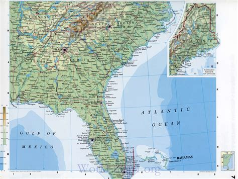 map of the eastern part of the united states eastern us road map www pixshark images galleries