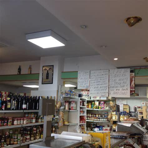 illuminazione a led per negozi illuminazione a led per alimentari cisano teris energia