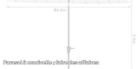 Parasol Déporté Orientable Et Inclinable by Parasol 224 Manivelle Faire Des Affaires Pour 2019
