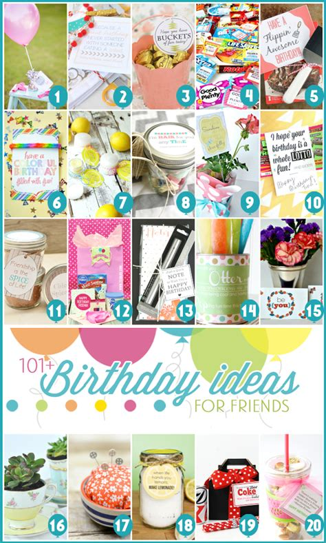 free gift ideas 101 creative inexpensive birthday gift ideas