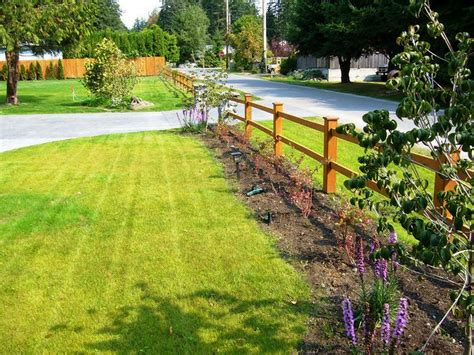 Flower Garden Fence Flower Bed Fence Interiors Design