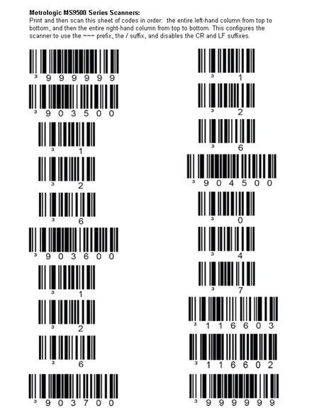 Configuring A Honeywell Metrologic Voyager Barcode