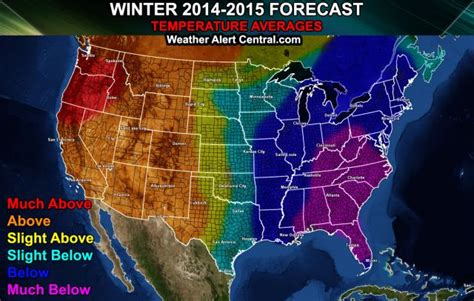 2014 2015 winter weather forecast map u s old farmer winter forecast for 2014 2015 highlights weather