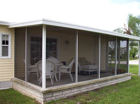 Home Sunrooms Mobile Home Asc Aluminum Speciality Contractors Inc
