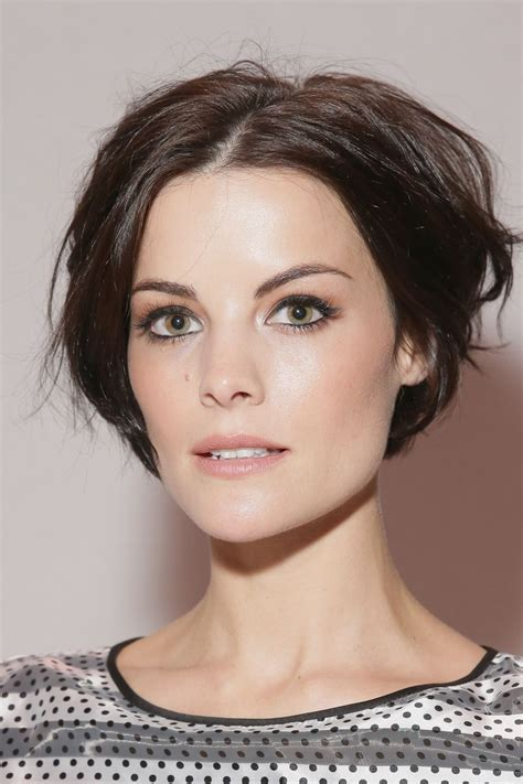 2015 ny short hair jaimie alexander erin fetherston fashion show in nyc
