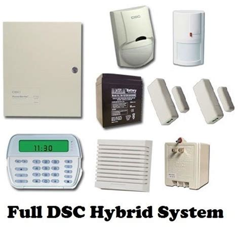 dsc hybrid wired wireless security system rfk5501