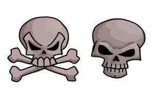 draw skullsgo    shell   advantage