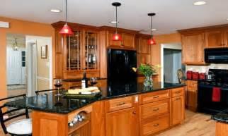 oak cabinets with black appliances kitchens with black appliances black appliances with oak