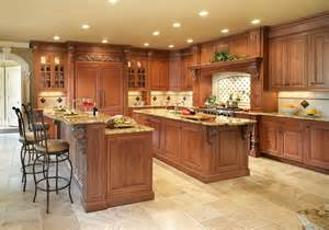 spacious modern wooden kitchen decoration ideas 2015 new large 2 level island kitchen traditional kitchen