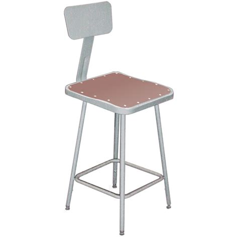 Heavy Stools by 6300 Series Heavy Duty Square Stools With Backrest Schoolsin