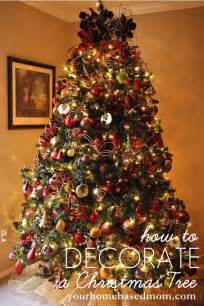 how to decorate a christmas tree tutorial christmas