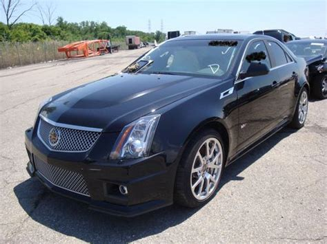 automobile air conditioning repair 2012 cadillac cts v transmission control find used 2012 cadillac cts v cts v wrecked wreck damaged repairable salvage clear title in