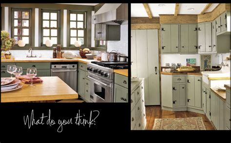 grey and green kitchen what do you think