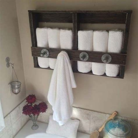 17 best ideas about bathroom towel storage on