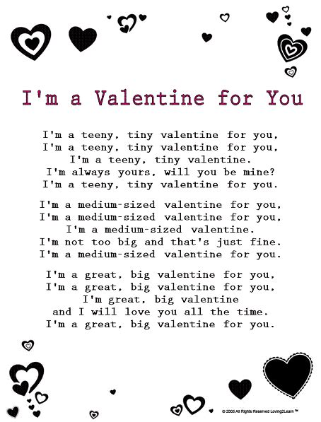 best valentines songs valentines day rhymes s day pictures