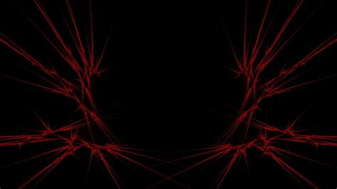 HD Background Electric Red Lines Pattern Wallpaper