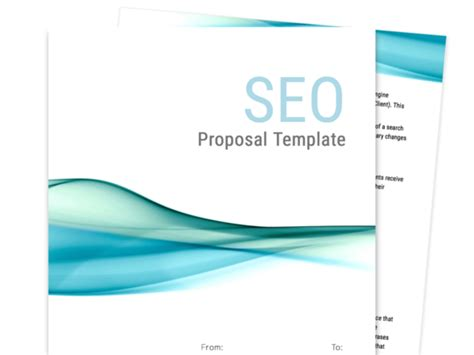 Find Your Proposal Template Proposable Seo Template