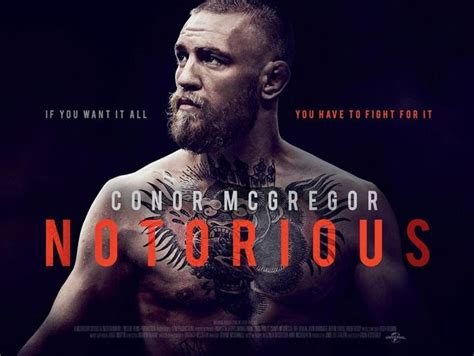 conor mcgregor announces quot notorious quot film documenting