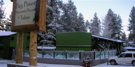 big pines mountain house big pines lake tahoe
