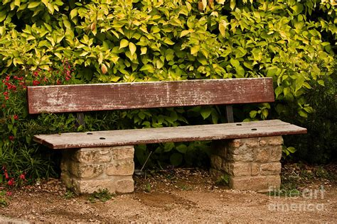 stone and wood bench old wooden and stone bench by mark hendrickson