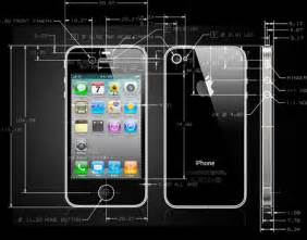 Cool Cad Drawings Cool Actual Iphone 4 Cad Drawings Core77