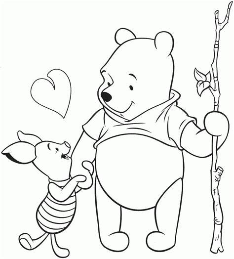 dibujos para colorear winnie pooh pintar de winnie the pooh dibujos para colorear de winnie