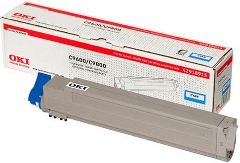 Toner Oki Oki C9600 C9650 C9800 Cyan Toner Cartridge 15 000