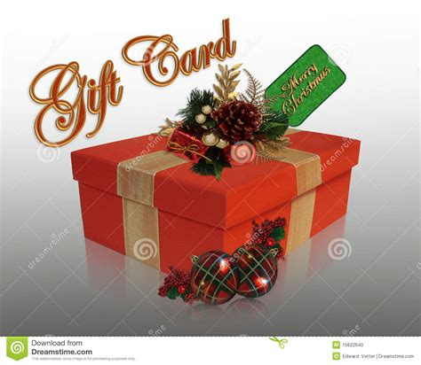 Gift Card Graphic - gift card graphic stock photo image 15622640