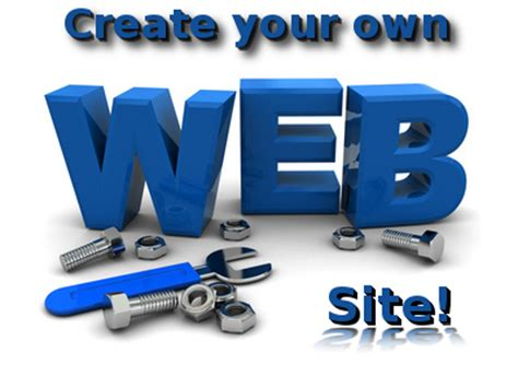 can i make a free website create your own website