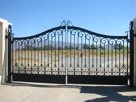 custom electric driveway gates