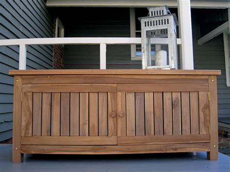 wood storage bench outdoor personalised teak benches from memorial benches uk