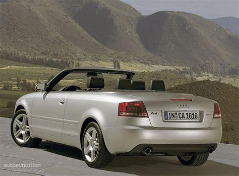 audi convertible 2008 audi a4 cabriolet 2005 2006 2007 2008 autoevolution