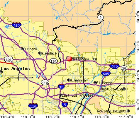 pasadena california map pasadena california ca profile population maps real