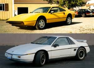Pontiac Fiero Mera One Of The Rarest American Cars Is A Counterfeit 308
