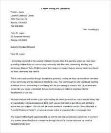 Letter Local Business Asking For Donations letter asking for donations word doc download