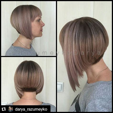 A Line Hairstyle by 21 Eye Catching A Line Bob Hairstyles Crazyforus