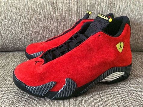 retro ferrari shoes 17 best images about air jordan 14 on pinterest