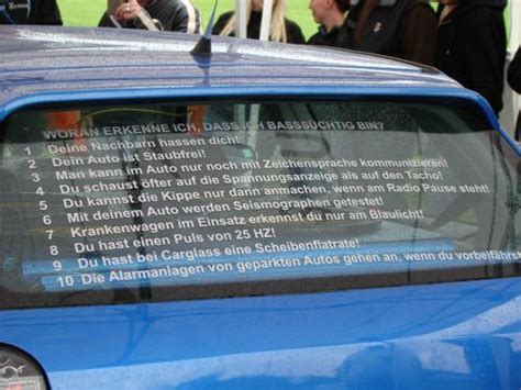 Autoaufkleber Dumme Spr Che by Lustige Aufkleber Spr 252 Che F 252 Rs Auto Seite 6