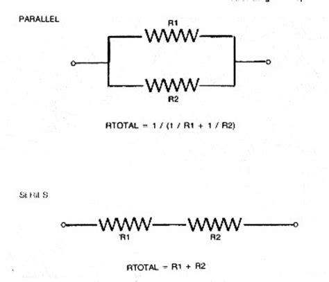 resistors in series heat crain s petrophysical handbook resistivity concepts ohm s