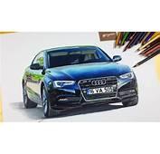 Araba &199izimi  Audi A5 YouTube