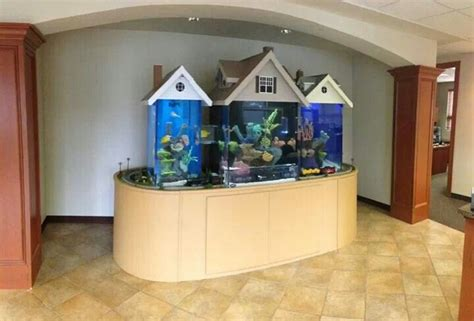 tank house fish tank house